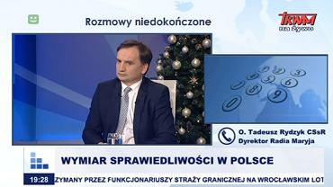 Zbigniew Ziobro w Telewizji Trwam