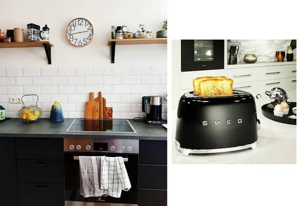 Czarne sprzęty do kuchni - praktyczne i stylowe
