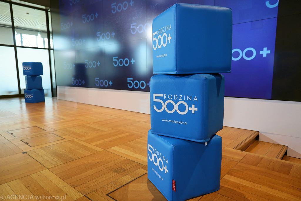 500 plus w 2021 roku