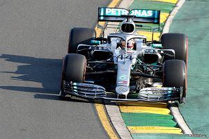 F1. Lewis Hamilton zszokowany przewagą Mercedesa w Melbourne