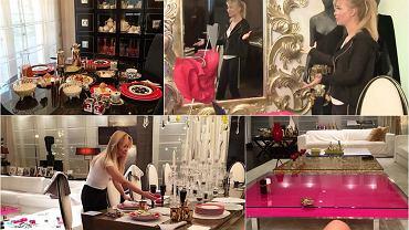 """Joanna Przetakiewicz to jedna z najbogatszych Polek. Na Instagram wrzuca sporo zdjęć, na których widać wnętrze jej luksusowego apartamentu. Dyrektorka kreatywna """"La Manii"""" lubi rozmach, ozdoby i ornamenty. Sami zobaczcie, jak mieszka."""