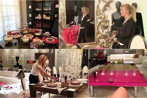 Joanna Przetakiewicz to jedna z najbogatszych Polek. Na Instagram wrzuca sporo zdjęć, na których widać wnętrze jej luksusowego apartamentu. Dyrektorka kreatywna La Manii lubi rozmach, ozdoby i ornamenty. Sami zobaczcie, jak mieszka.
