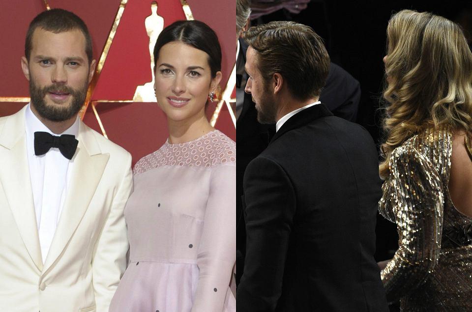 Zdjęcie numer 0 w galerii - Oscary 2017. Ryan Gosling zamiast żony zabrał tajemniczą blondynkę. Kim jest? Nie tylko on zaskoczył swoim towarzystwem