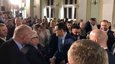 Wybory do europarlamentu 2019. Premier Mateusz Morawiecki w Strzelinie
