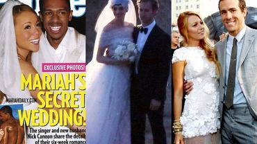 Mariah Carey, Nick Cannon, Anne Hathaway, Adam Shulman, Balke Lively, Ryan Reynolds.
