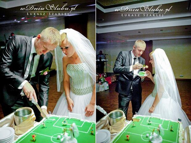 Zdjęcie numer 7 w galerii - Grosicki pokazał zdjęcia ze ślubu. Suknia panny młodej ładna, ale JEJ nie przebiła. To ona miała najpiękniejszą suknię wśród WAGs