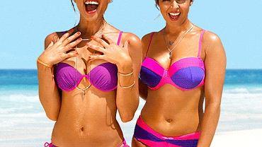 Jeżeli jeszcze nie znalazłaś idealnego kostiumu kąpielowego na tegoroczny letni wypoczynek, koniecznie sprawdź ofertę marki bonprix. Pośród propozycji znajdziemy modele idealne dla różnych typów sylwetek. Dla Pań, które nie czują się komfortowo w skąpych strojach na cienkich sznureczkach, bonprix proponuje szeroka gamę kostiumów jednoczęściowych - zarówno o sportowym kroju, jak i bardziej ekskluzywnym z wyciętymi plecami i zwężona talią. Klasyczne bikini zawiązywane na szyje jest doskonałym sposobem na uwydatnienie piersi. Warto zwrócić szczególną uwagę na wyszczuplające sukienki kąpielowe w ofercie bonprix, które są innowacyjnym rozwiązaniem dla kobiet, które nie czują się w pełni komfortowo na plaży. Natomiast hitem tegorocznego lata są kostiumy kąpielowe z frędzlami - maskują niedoskonałości, a jednocześnie są modne i efektowne.