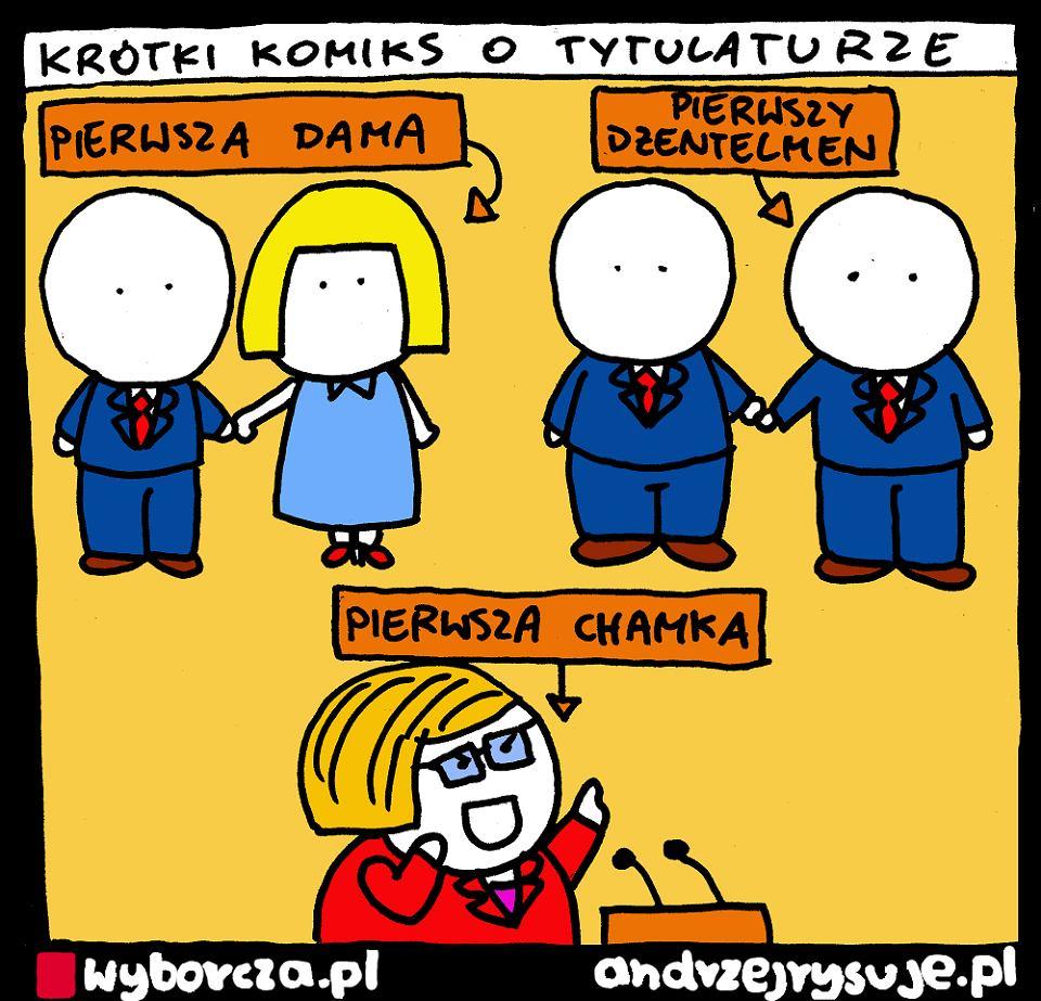 Andrzej Rysuje | TYTULATURA - Andrzej Rysuje, 10.02.2020 - null