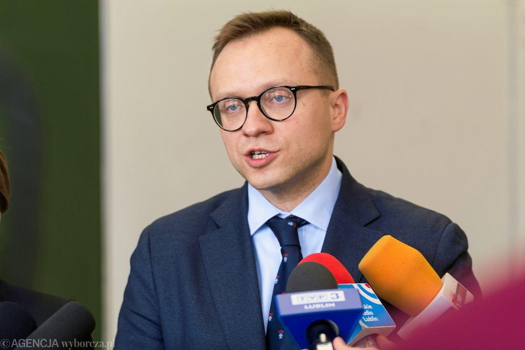 Poseł PiS Artur Soboń