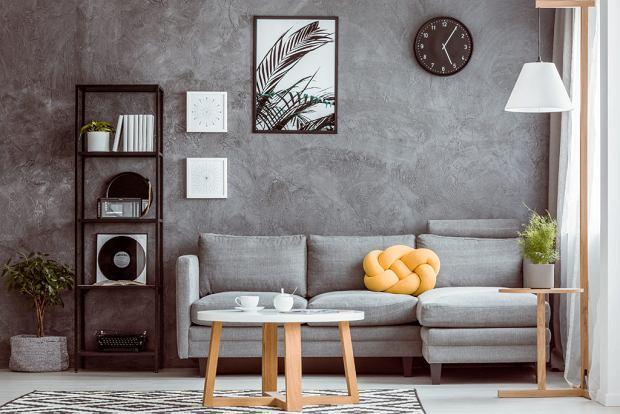 Ściany w salonie z pomysłem