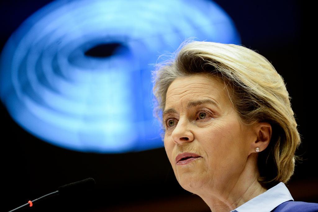 Von der Leyen o unijnej strategii szczepień: Byliśmy zbyt optymistyczni