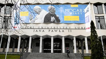 Fronton Katolickiego Uniwersytetu Lubelskiego