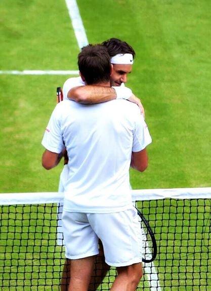 Roger Federer, Stan Wawrinka, Wimbledon 2014