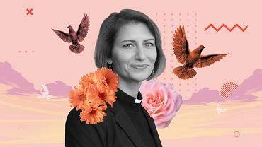 ks. Monika Zuber z parafii w Starych Juchach