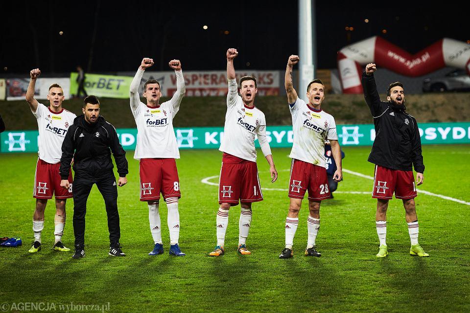 *Mecz LKS Lodz - Sandecja Nowy Sacz w Lodzi