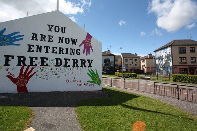 Londonderry/Derry, Irlandia Północna, Wielka Brytania / fot. mkairishstudies