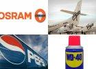 Nazwa Osram pochodzi od 2 pierwiastków, WD-40 od liczby prób, a Pepsi... 17 wielkich firm i historie ich nazw