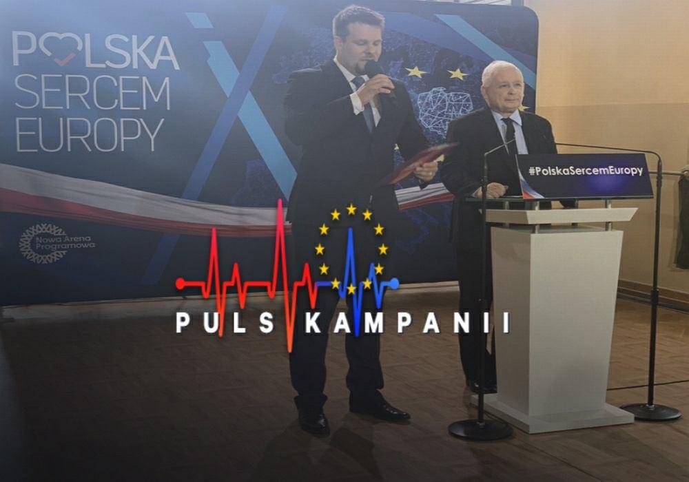 Wybory do Parlamentu Europejskiego 2019. Jarosław Kaczyński zarzuca 'krzywoprzysięstwo' Platformie Obywatelskiej