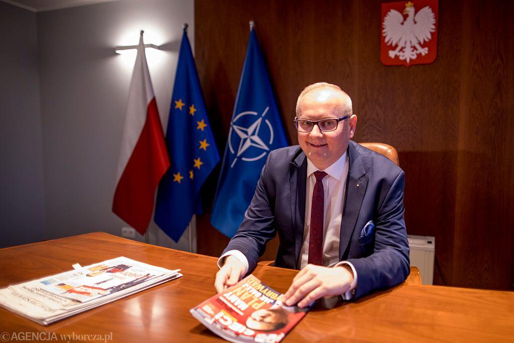 Wojewoda wielkopolski Łukasz Mikołajczyk