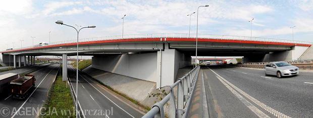 Węzeł autostradowy w Gliwicach. Tu krzyżują się A4 i A1