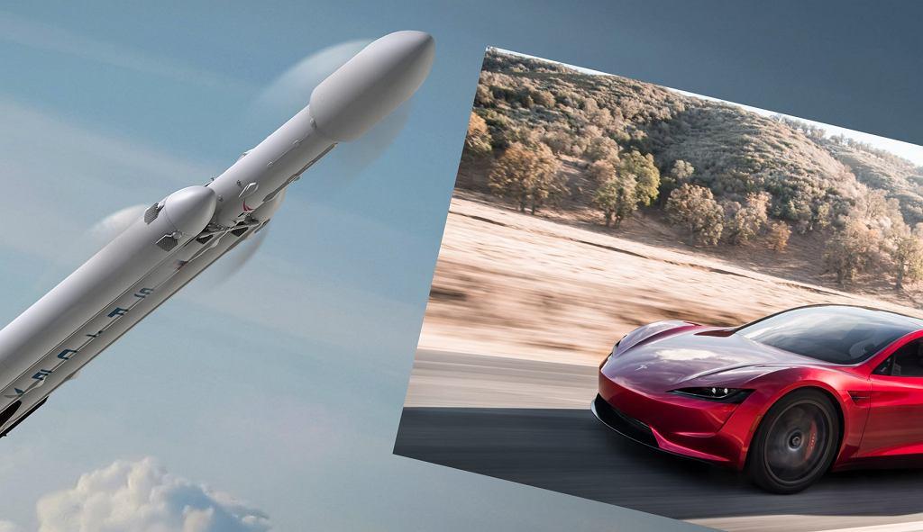 Elon Musk oświadczył, że wysyła samochód w kosmos, by potem temu zaprzeczyć