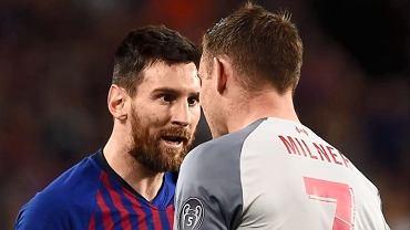 Ostre spięcie między Jamesem Milnerem i Leo Messim
