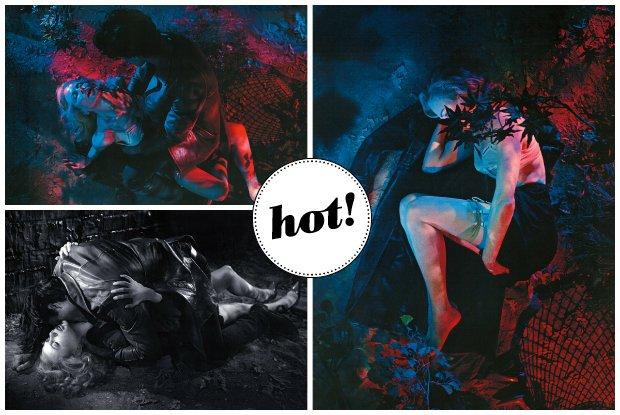 """Kontrowersyjna sesja Nicole Kidman w nowym """"Interview Magazine"""". Gwiazda ulega seksownemu wampirowi... [ZDJĘCIA]"""