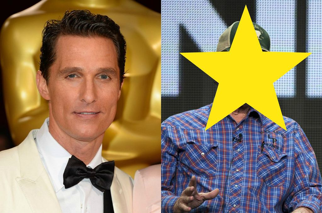 Matthew i Rooster McConaughey
