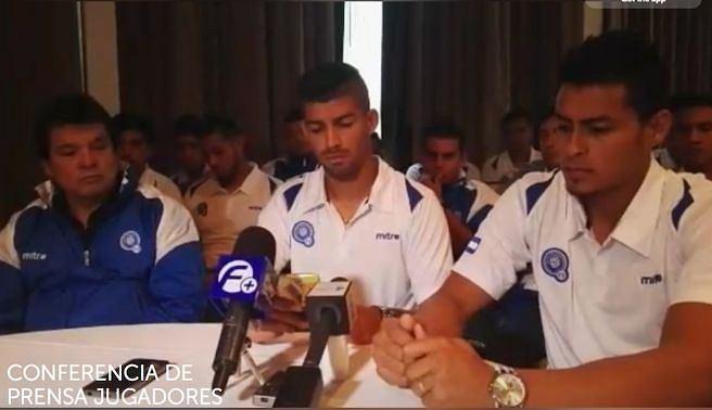 Piłkarze Salwadoru ujawniają taśmy