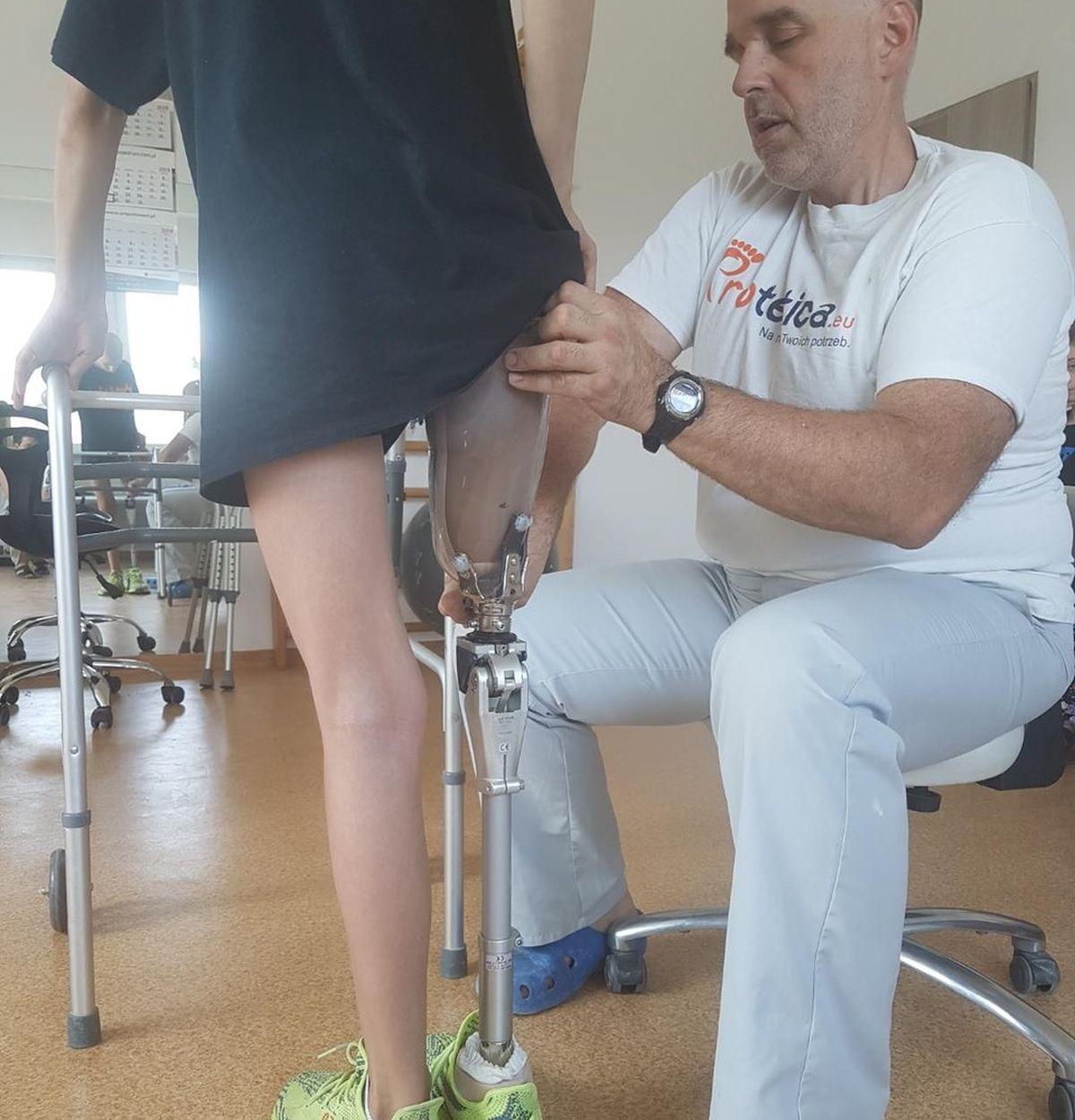 Do firmy Protetica, producenta protez, trafia coraz więc pacjentów (fot. Protetica)