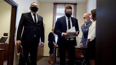 Nawacki dalej nie chce dopuścić sędziego Juszczyszyna do pracy.