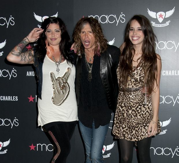 """10/14/2011 - Mia Tyler, Steven Tyler, Chelsea Tyler - Steven Tyler Introduces Andrew Charles Fashion Collection at Macy's Herald Square in New York City on October 14, 2011 - Macy's Herald Square - New York City, NY, USA - Keywords: Aerosmith, """"American Idol"""" Orientation: Portrait Face Count: 1 - False - Photo Credit: Janet Mayer / PR Photos - Contact (1-866-551-7827) - Portrait Face Count: 1"""