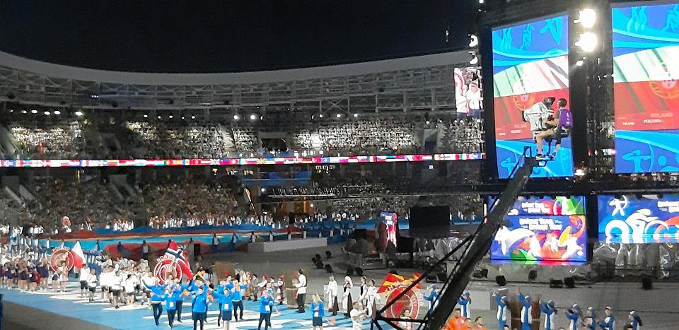Uroczystość otwarcia Igrzysk Europejskich w Mińsku