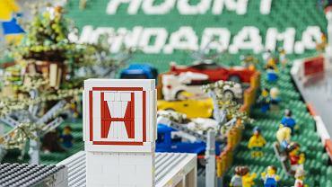 Makieta Lego 'Mount Hondarama'
