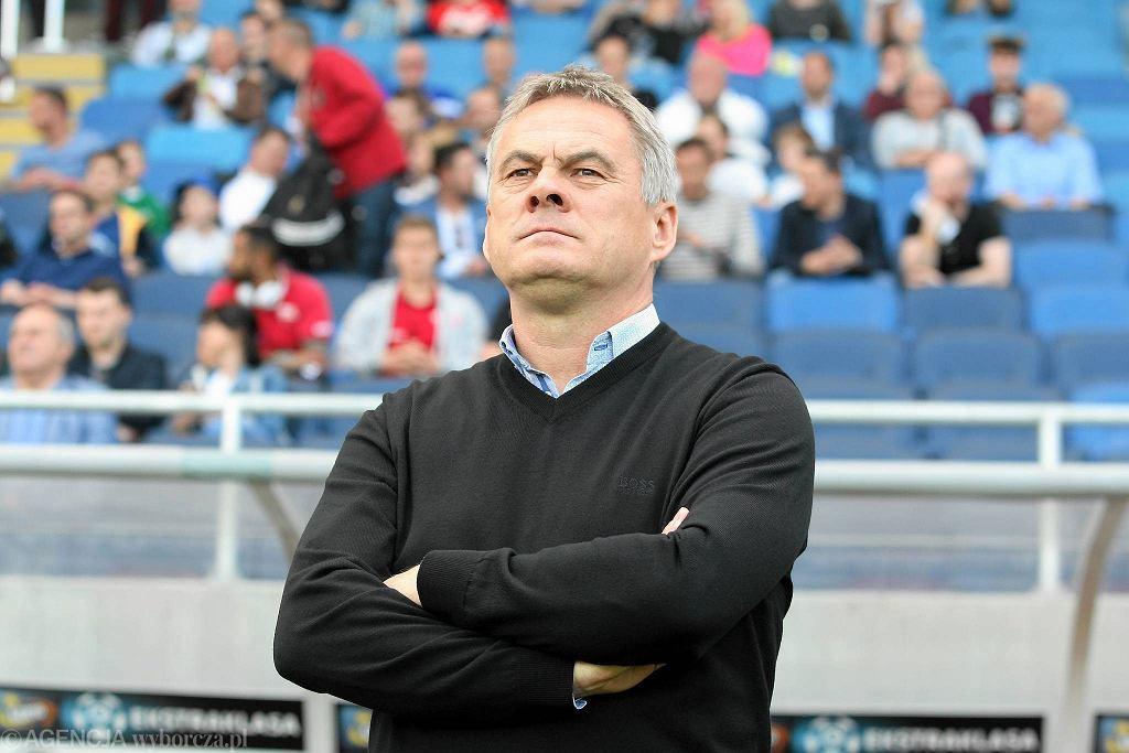 Górnik Łęczna - Cracovia 3:0. Trener krakowian Jacek Zieliński