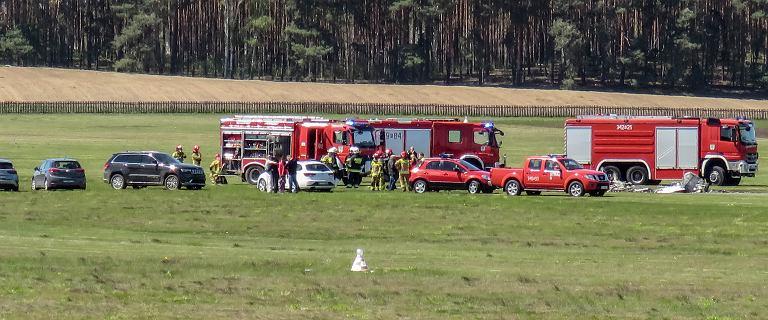Katastrofa samolotu w Zielonej Górze. Nie żyje pilot maszyny