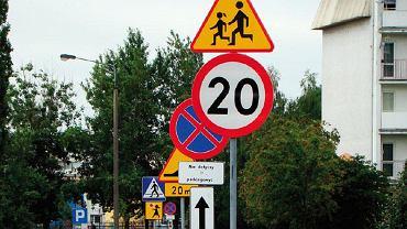 Złe oznakowanie polskich dróg