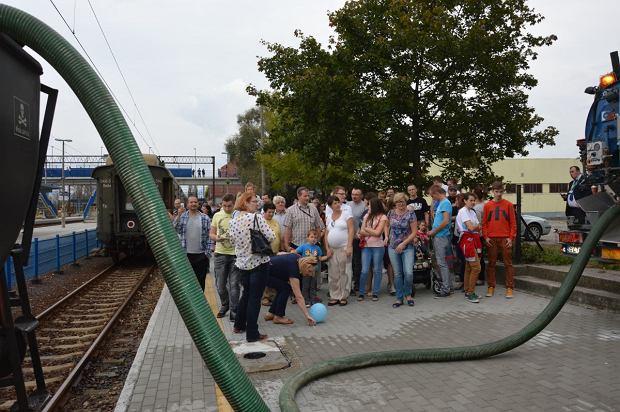 Zdjęcie numer 7 w galerii - Zabytkowy pociąg przyjechał do Żywca piękną trasą [ZDJĘCIA]