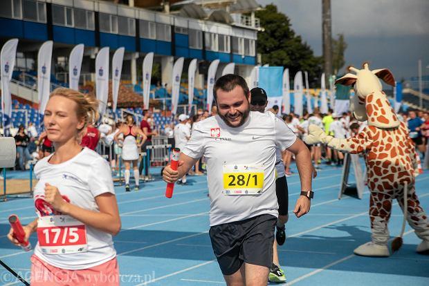 Zdjęcie numer 0 w galerii - PKO Bieg Charytatywny. Na Zawiszy pomagali biegając [ZDJĘCIA]