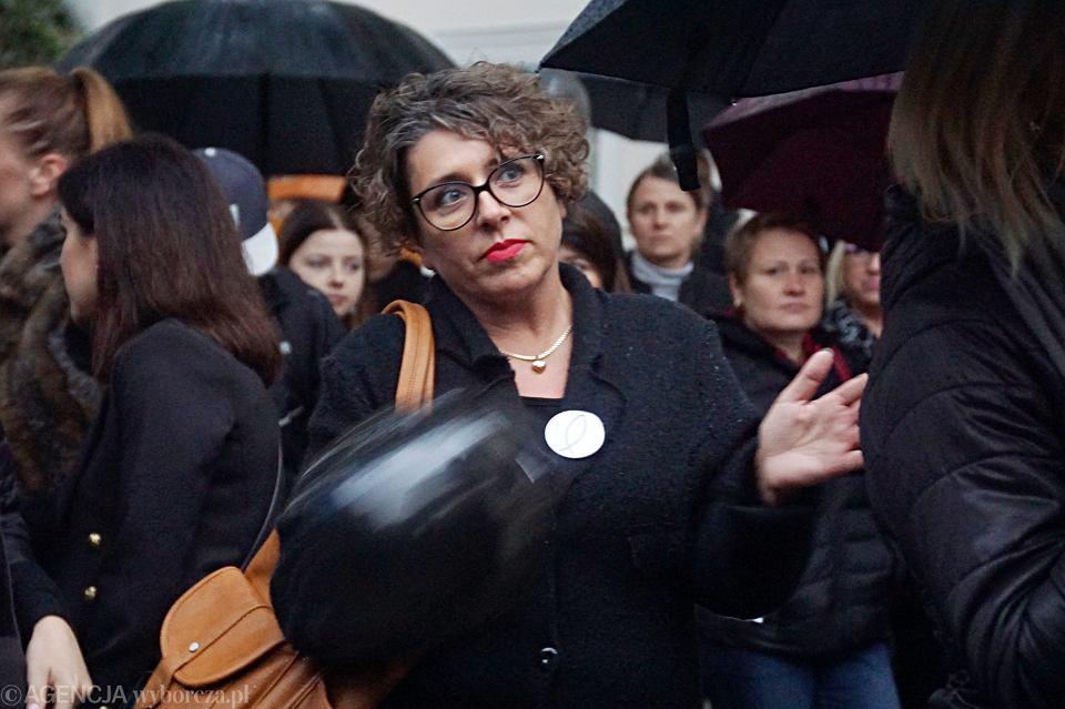 Zdjęcie numer 60 w galerii - Czarny protest w Zielonej Górze: