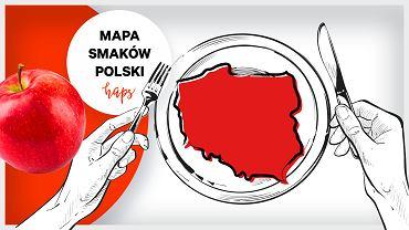 Mapa smaków Polski