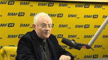 Abp Henryk Hoser w RMF FM