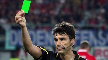 Pierwsza zielona kartka w historii