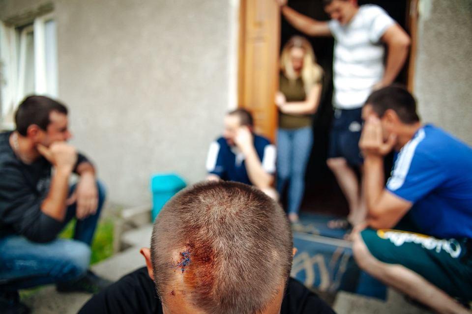 Zdjęcie numer 1 w galerii - W Chwaszczynie zaatakowano dom, w którym mieszkają Ukraińcy. Sprawcy krzyczeli: