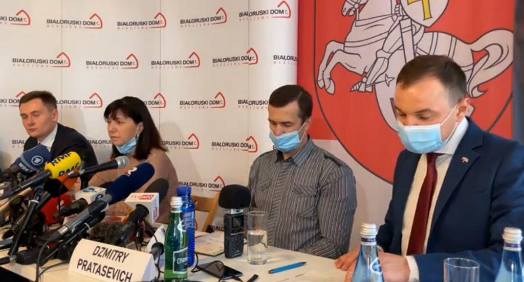 Konferencja rodziców Romana Protasewicza