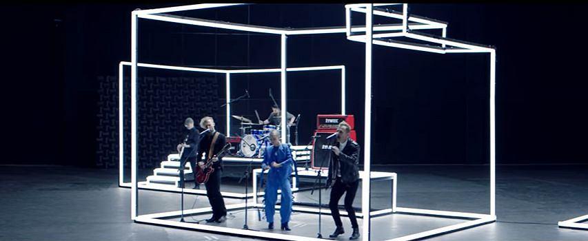 Kadr z teledysku 'Nieboskłon'