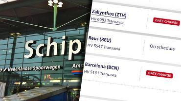 Lotnisko w Amsterdamie znów z problemami