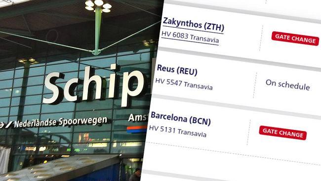 Niewiarygodna awaria. Pasażerowie znów uwięzieni na lotnisku w Amsterdamie. Nawalił ten sam system