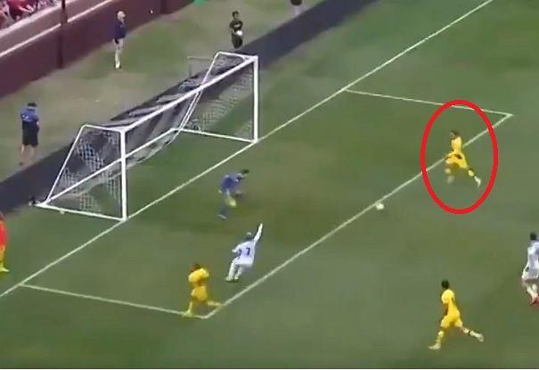 Griezmann strzelił gola Napoli