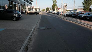 Poznań - Antoninek. Ul. Gorzysława. To tutaj policjanci oddali kilkanaście strzałów w kierunku 39-letniego Łukasza